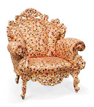 Alessandro Mendini Proust armchair originally designed 1978