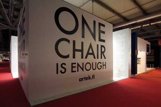 Artek stand Milan 2009