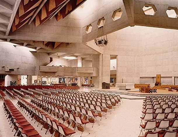 Clifton Cathedral interior, Bristol, UK
