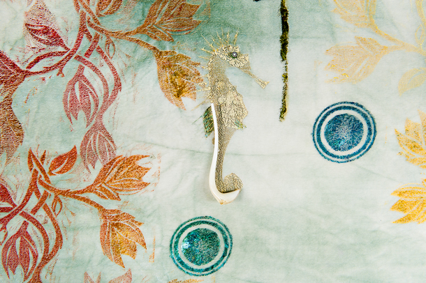 Arazzi Painting using Murano glass