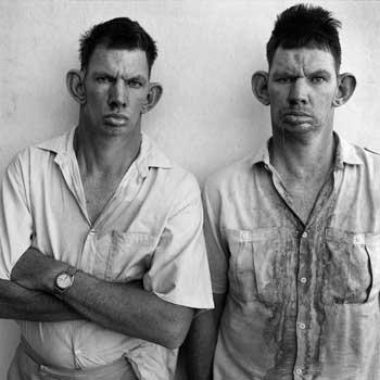 Roger Ballen, Dresie and Casie, Twins, Western Transvaal,1993