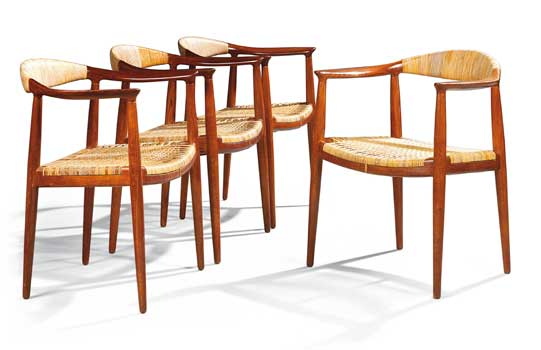 Hans Wegner Elbow chairs, 1949