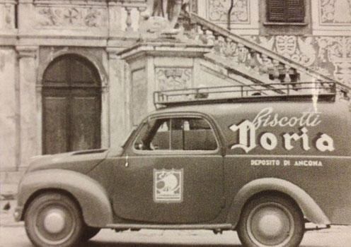 Biscotti Doria delivery car