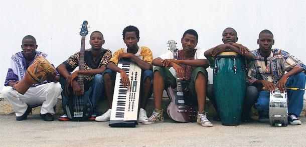 Zimbabwean band Mokoomba