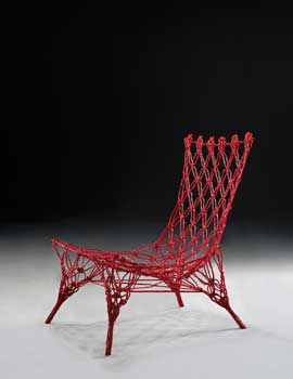 Marcel Wanders, Knotted chair, designed 1996