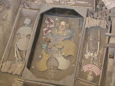 Moche Royal Tomb, Sipan