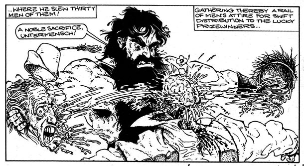 Samson by Graham Higgins from Outrageous Tales
