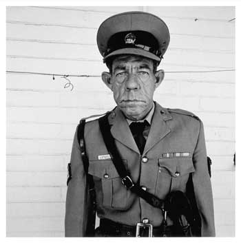Roger Ballen, Sergeant F de Bruin Department of Prisons Employee, Orange Free State 1992