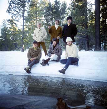 The Beach Boys Courtesy of Brian Wilson Archive