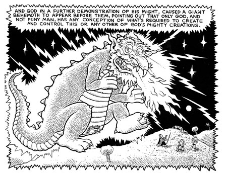 From The Book of Job by Kim Deitch in Outrageous Tales