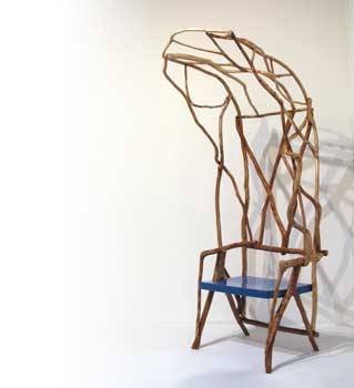The wild botched chair by Valentina Gonzalez Wohlers