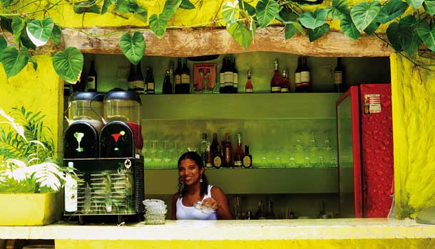 Colombian juice bar