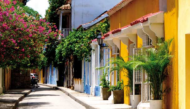 Colombian Daydream of the Colonial Past