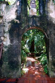 San Pedro courtyard