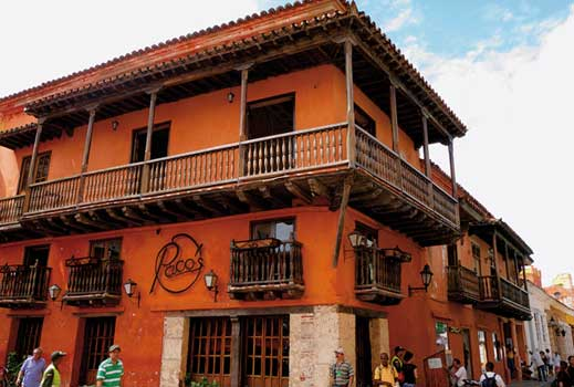 Colombia, Calle de Ricaurte