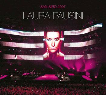 Laura Pausini: cover Laura Pausini San Siro 2007