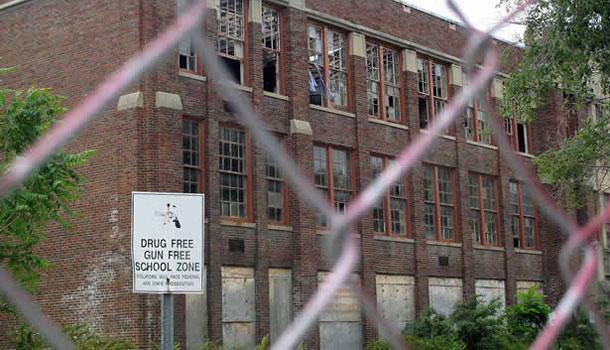 East St. Louis - school
