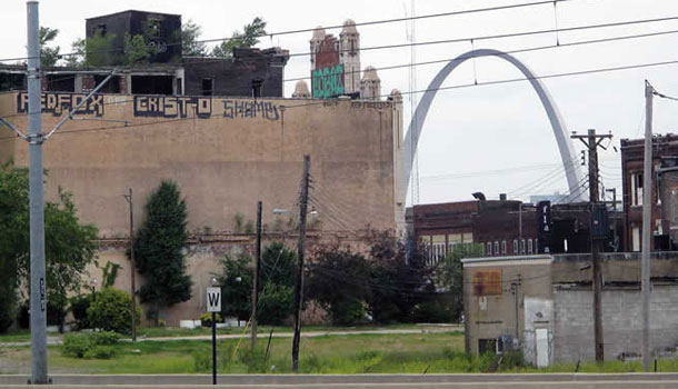 East St. Louis - suburb