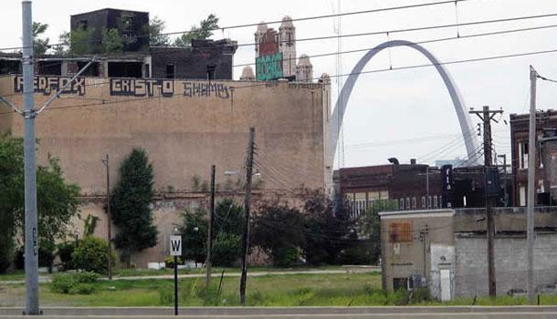 East St. Louis - suburb