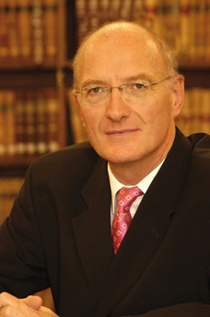 Edwin Cameron is a senior judge in South Africa's Supreme Court of Appeal