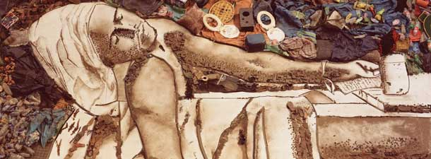 Vik Muniz, Tiao as Marat by David