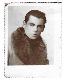 Before Halloween the filò - Portrait of a man