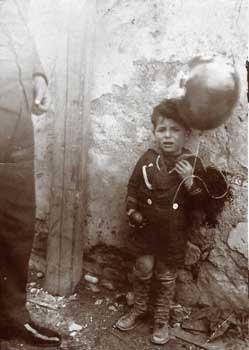 Before Halloween the filò - boy dress as a sailor